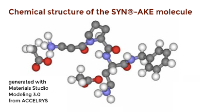 Chemical structure of the SYN®-AKE molecule